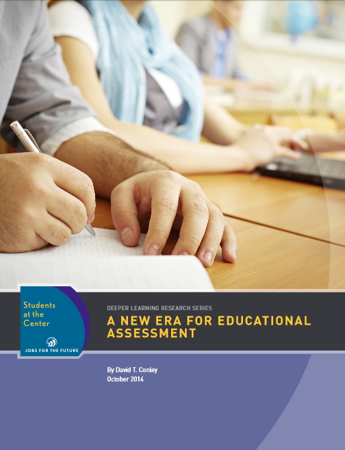 cover of a new era for educational assessment