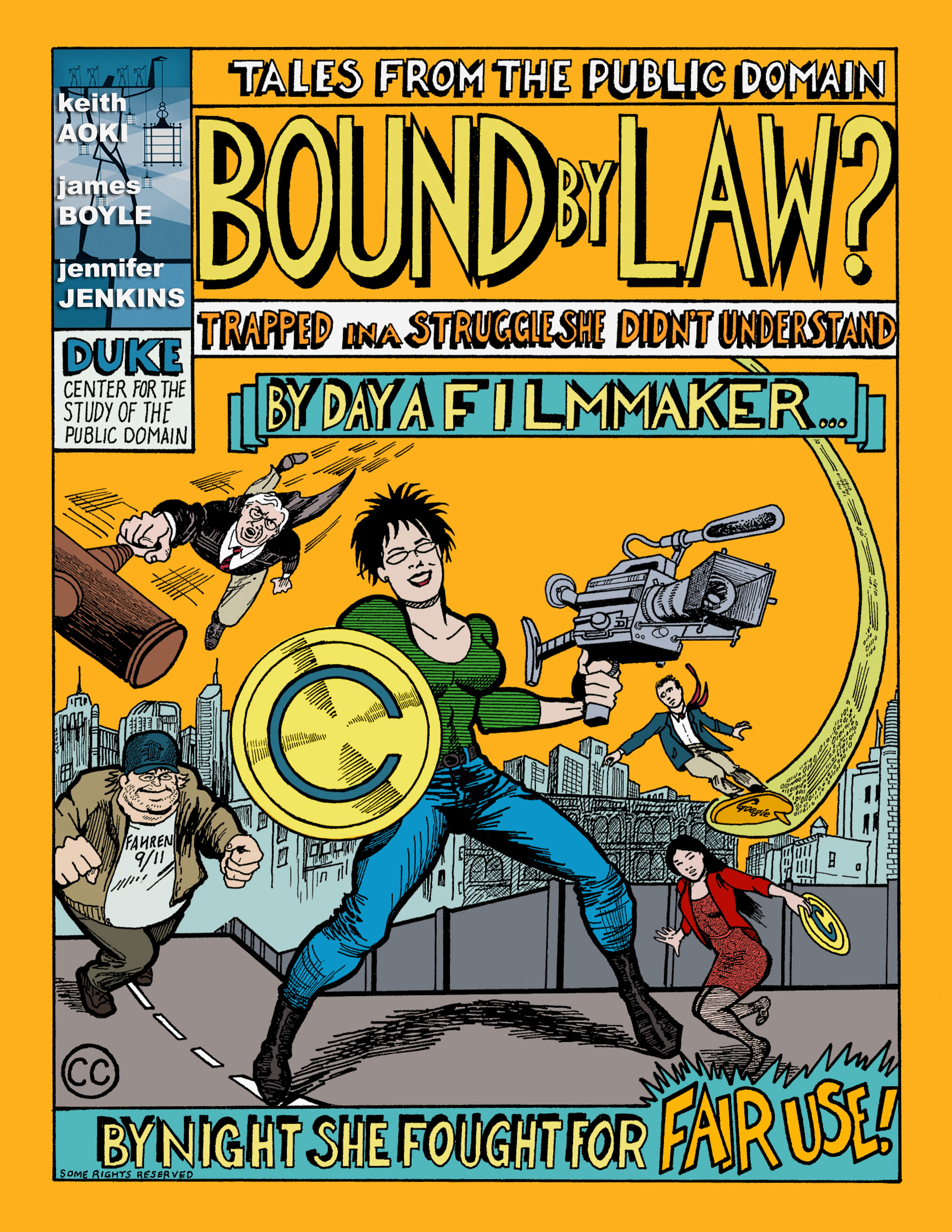 cover of comic book on public domain issues from Duke University