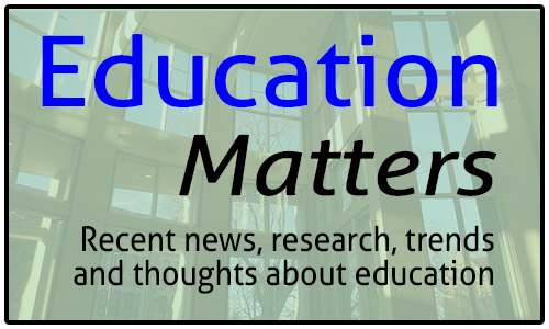 Education matters logo: Recent news, research, trends and thoughts about education